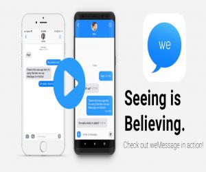 تطبيق جديد يسمح باستخدام تطبيق iMessage الخاص بآبل على هو...