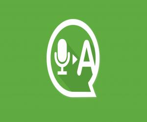 Transcriber لتحويل الرسائل الصوتية إلى نصوص في واتساب