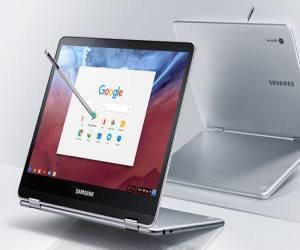 سامسونج تعمل على حاسب Chromebook جديد سيضم تصميم هجين