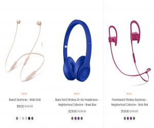 تخفيضات من آبل على سمّاعات Beats تصل إلى 60 دولار أمريكي