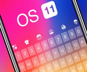 Keyboard for Os11 لوحة مفاتيح لهواتف أندرويد بنكهة iOS