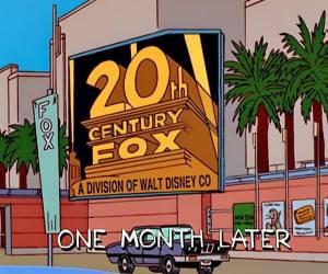 هل تنبئ The Simpsons باستحواذ Disney على 21st Century Fox...