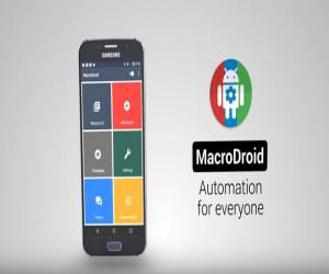 تطبيقMacroDroid لأتمتة المهام في أندرويد