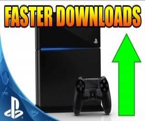 كيفية زيادة سرعة التحميل في جهاز PS4