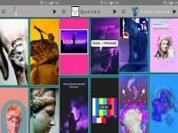 تطبيق Vaporwave Wallpapers للحصول على خلفيات خداع بصري لل...
