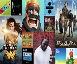 أفضل التطبيقات والألعاب والأفلام والموسيقى في متاجر آبل