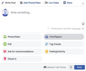 فيس بوك تختبر ميزة البحث عن شخص يلعب معك ألعاب فيديو