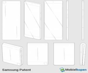 رسومات تخطيطية مسربة للهاتف Galaxy X القابل للطي القادم م...