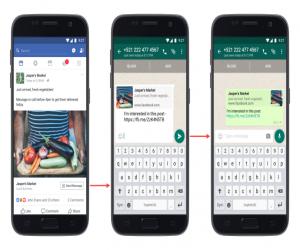 إطلاق إعلانات فيس بوك التي تدعم زر الإتصال عبر واتساب