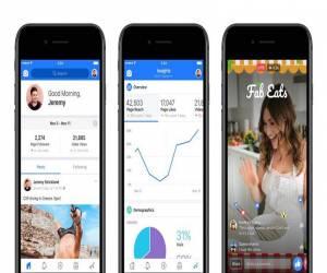 فيسبوك تعلن عن تطبيق Facebook Creator الخاص بمنشئي الفيديو