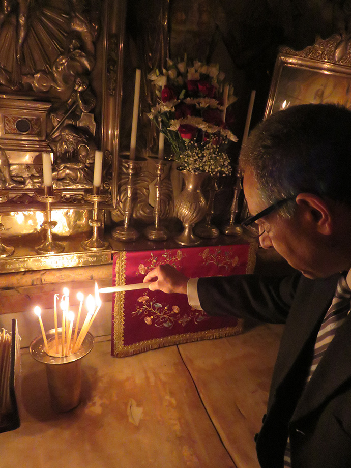 Inside the Tomb of Jesus