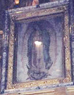Light in the Womb of Our Lady of Guadalupe