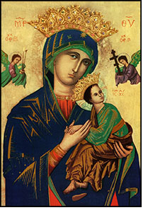 Our Lady of Perpetual Help crowned