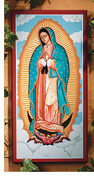 Monastery Icons icon of Our Lady of Guadalupe