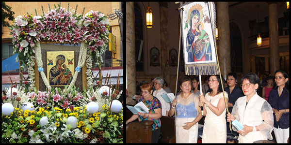 Honoring Our Lady of Perpetual Help