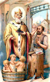 St. Nicholas and the Children