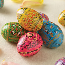 Easter Eggs, Gifts and Icons