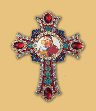 G33 Jeweled Cross