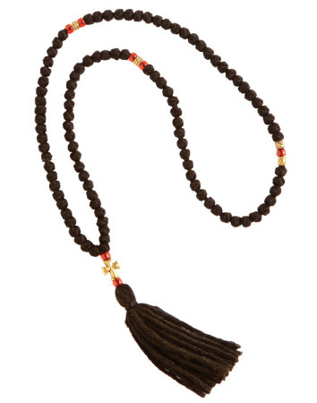 100-knot Woolen Prayer Rope
