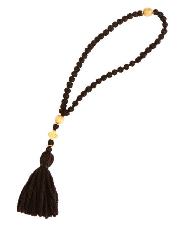 50-knot Woolen Prayer Rope