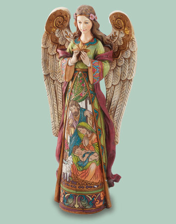Angel of Christmas Figurine