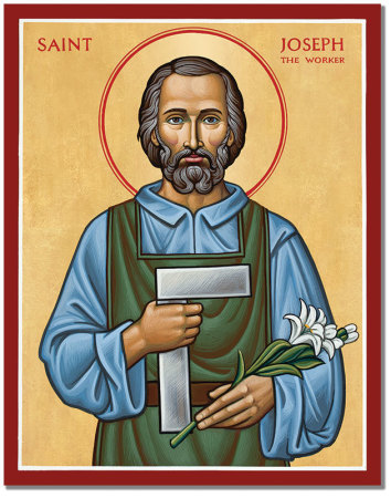 Image result for st joseph the worker