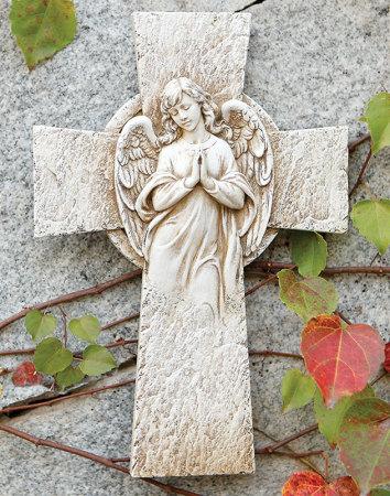 Angelic Garden Cross