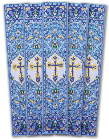Blue Cross bookmarks