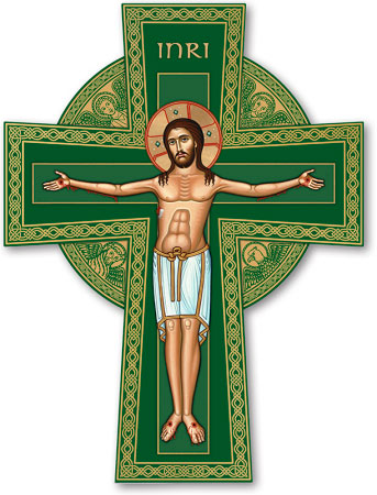 Celtic Crucifix Magnet
