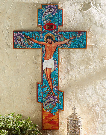 Christ Life of the World Crucifix