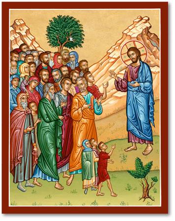 Christ Teaching icon