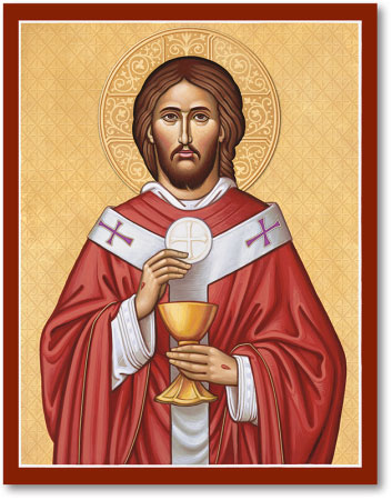 Icons of Christ: Christ the High Priest Icon