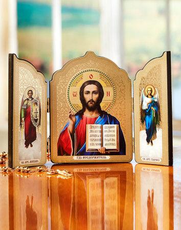Christ the Teacher Triptych