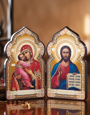 Classic Icon Diptych