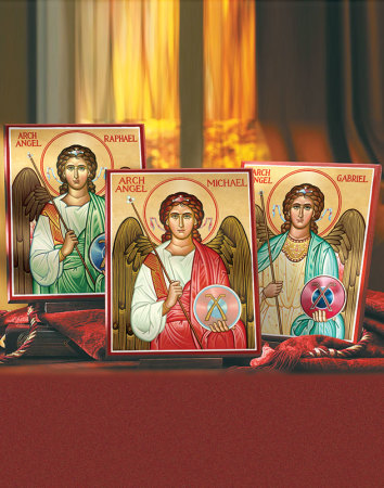 Discounted Angel Icon Set