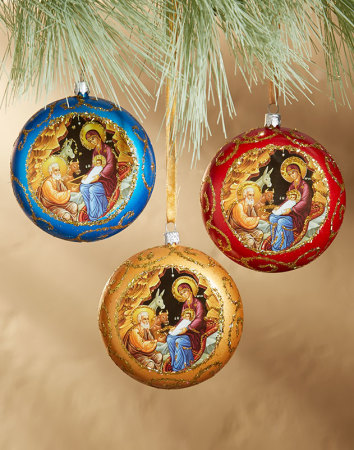 Discounted Icon Ornament Set
