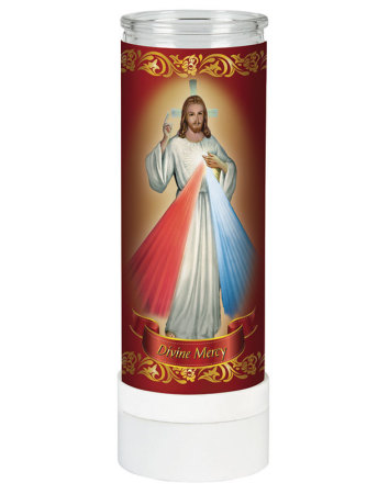 Divine Mercy Electric Votive Candle
