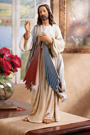 divine mercy figurine 25