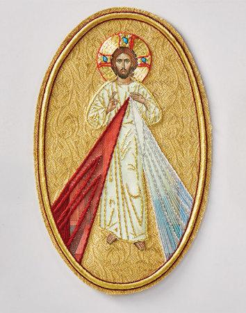 Divine Mercy vestment emblem