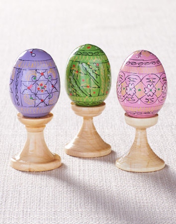 Sacred easter gifts easter egg trio monastery icons easter egg trio negle Image collections