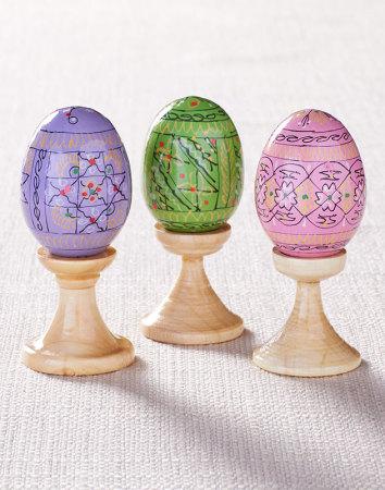 Easter Egg Trio