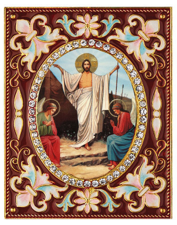 Enamel Ornament - Resurrection