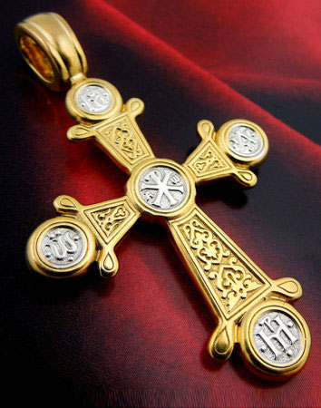 Engraved Byzantine Cross