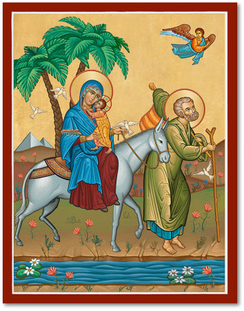 Flight Into Egypt Icon