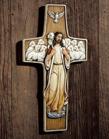 Good Shepherd Wall Cross