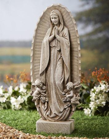 Guadalupe Indoor Outdoor Statue