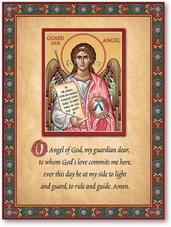 Guardian Angel Inspirational Plaque