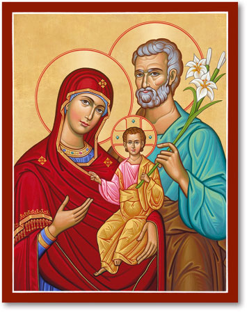 Holy Family, Portrait Style icon