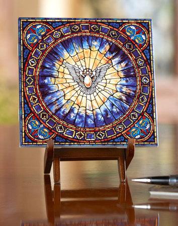 Holy Spirit Ceramic Tile