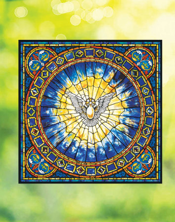 Holy Spirit Window Vinyl 20-inch